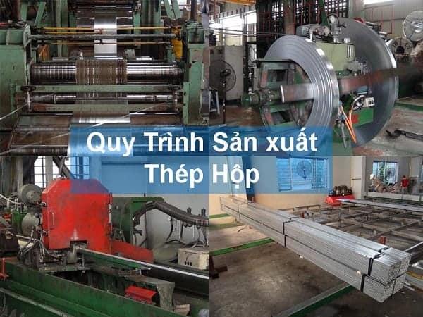 quy trình sản xuất thép hộp