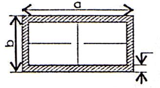 kích thước sắt hộp chữ nhật