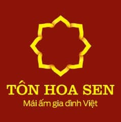 logo tôn hoa sen vuông