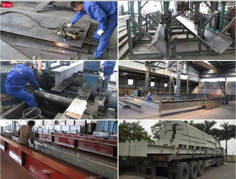 Giới thiệu một số bước trong quy trình sản xuất thép hình