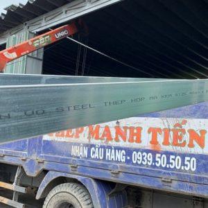 thép hộp chữ nhật 40x80 nhà máy tuấn võ