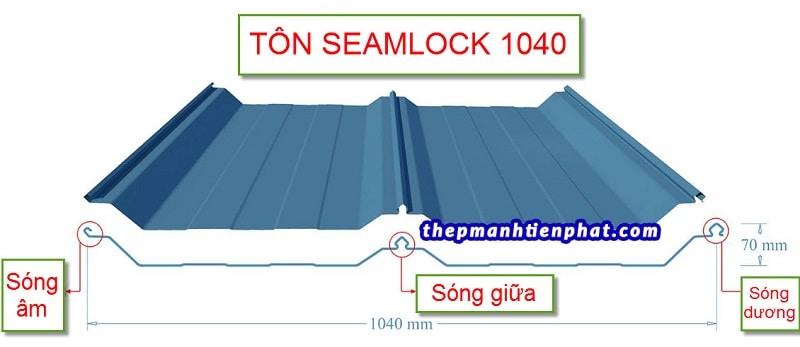 Tôn seamlock 1040
