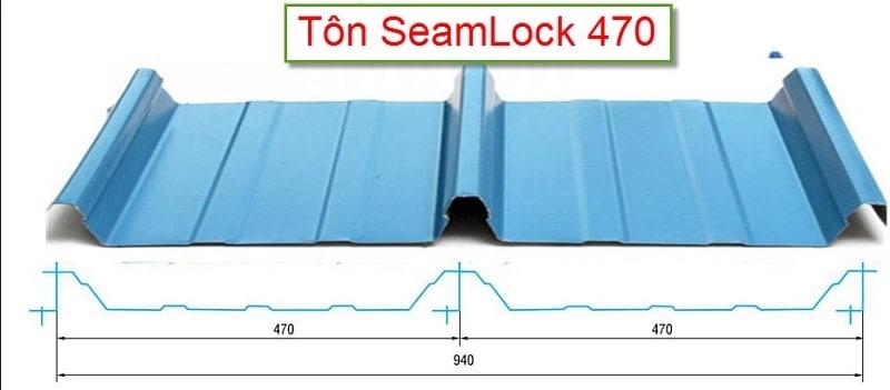 Tôn seamlock 470