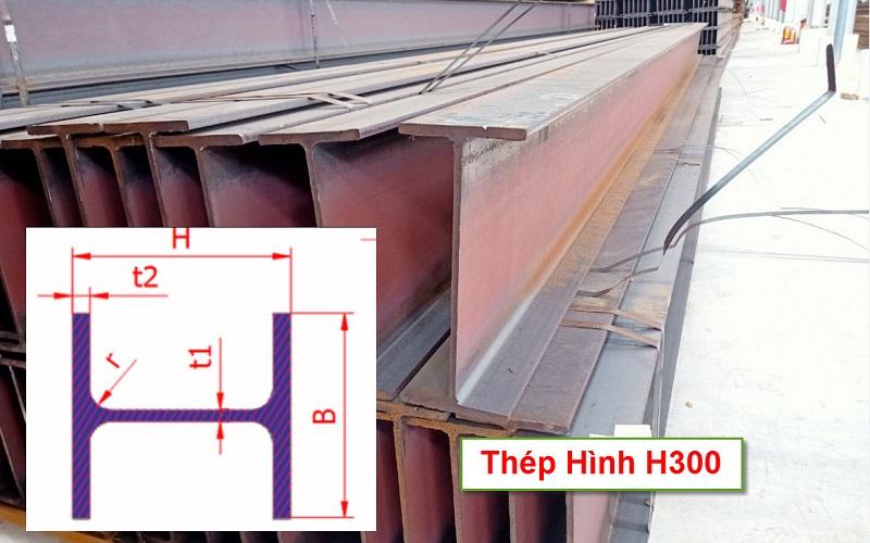 Thông số thép hình H300