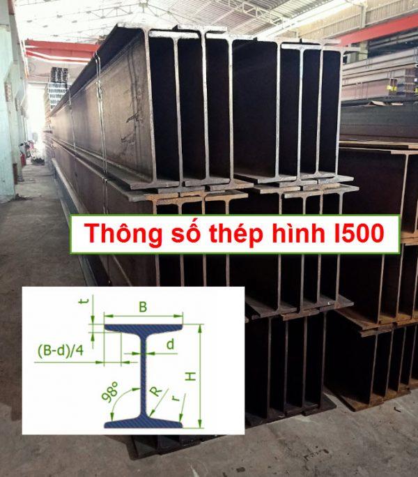 Thông số thép hình I500