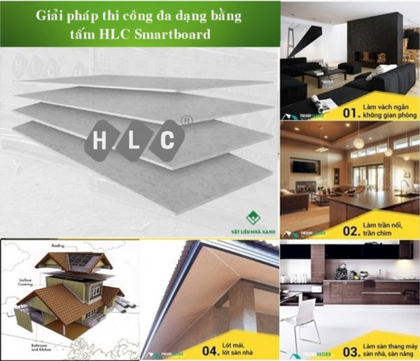Ứng dụng của tấm HLC SmartBoard Việt Nam